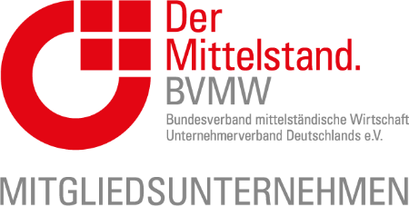 Member of BVMW - The German Association for Small and Medium-sized Businesses