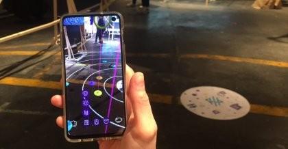 Das multidisziplinäre Design-Studio NEEEU aus Berlin präsentierte seine Augmented Reality App OrBeat im Digital Arts Lab auf der hub.berlin.